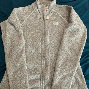The North Face Women's Oatmeal Zip Up